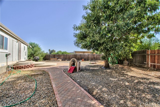 Second house- Backyard area
