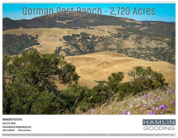 0 Gorman Post Road, Gorman, CA 93243