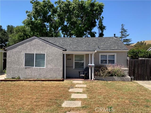 668 Caudill Street San Luis Obispo, CA 93401