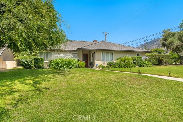 1665 Rodeo Road Arcadia, CA 91006