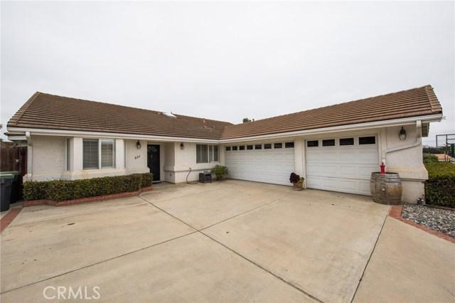 864 Mccloud Street, Santa Maria, CA 93455
