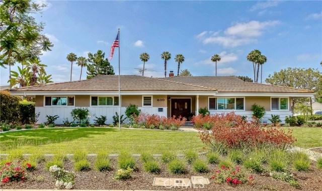 600 E Sunny Hills Road, Fullerton, CA 92835