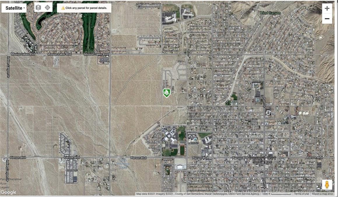 Details for 0 Golden Eagle Way, Desert Hot Springs, CA 92240