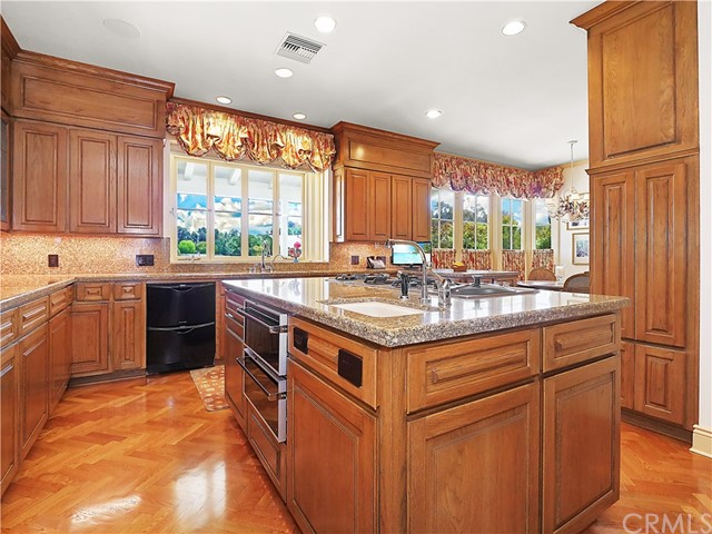 Kitchen - with Gaggenau appliances