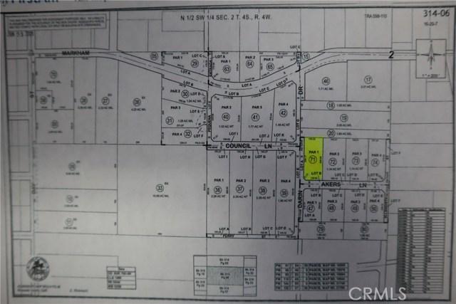 0 Akers Lane, Perris, CA 92570
