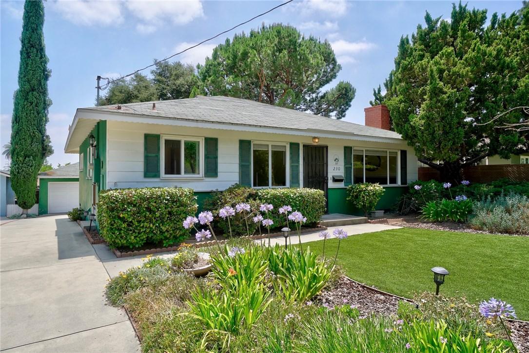 230 W Montecito Avenue, Sierra Madre, CA 91024