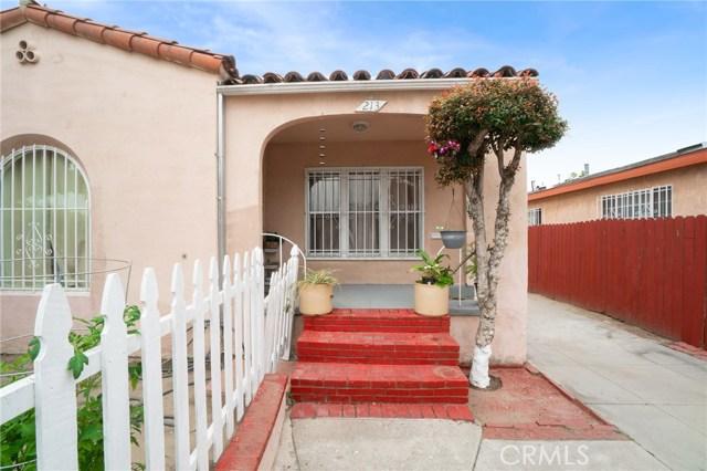 211 E 105 Street, Los Angeles, CA 90003