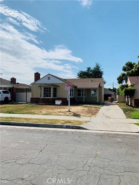 814 W Gleason Street, Monterey Park, CA 91754