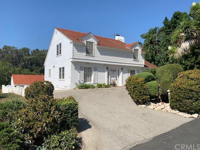 CHARMING CAPE-COD FIXER IN RED TILE ROOF ARE OF MIRALESTE: 2,400 square feet in the well-valued Miraleste area. Bring your tools and paint brush. 3 bedroom 3 1/2 bath two story house PLUS 1 bedroom 1 bath ADU below garage with water heater. Gorgeous and lush backyard. Bring your hiking shoes as the yard has access to a myriad of hiking trails. Part of the top flight Palos Verdes Peninsula Unified School District. Close to Mira Catalina Grade School, Miraleste Middle School...which is a former high school with a gymnasium, football stadium, pool and Theater Arts Building. Just a few houses up from the Fire Station and Miraleste Liquor and Deli.