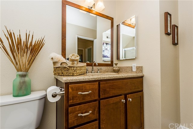 Another view of the hall bath! All remodeled and just waiting for you!