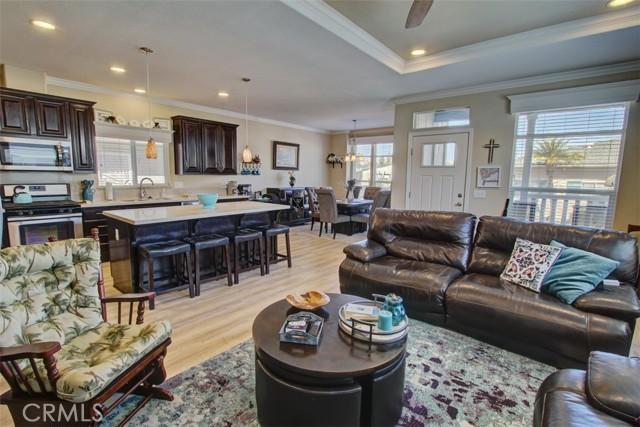 Open Floor Plan from the Living Room Area