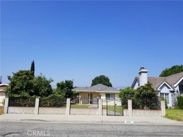 4951 Persimmon Avenue, Temple City, CA 91780