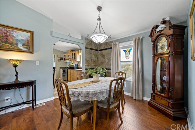 Formal dining room..could also be used as den.