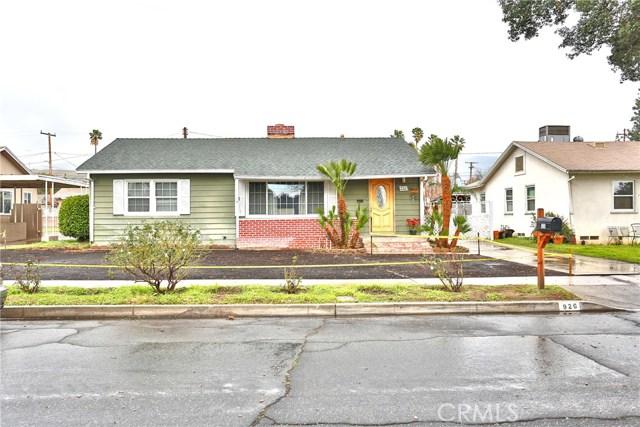 926 W 25th Street, San Bernardino, CA 92405