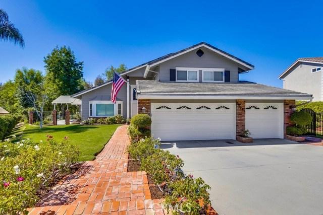 One of Yorba Linda Homes for Sale at 5295  Vista Del Amigo, 92886