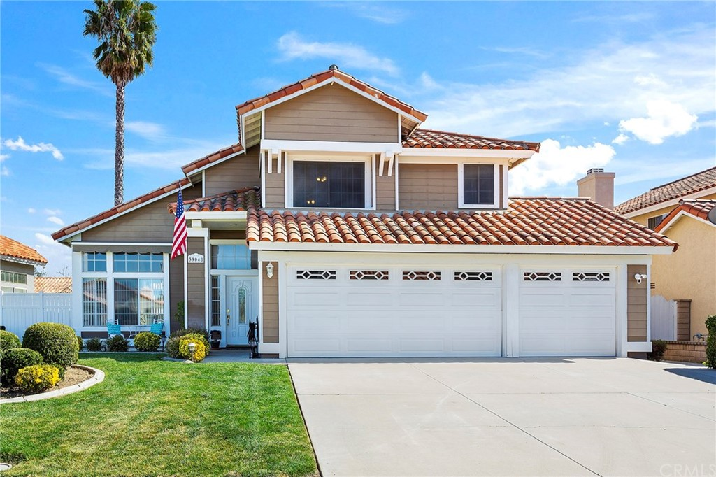 Don't miss out! This Murrieta remodeled pool home is turnkey, located on a quiet cul-de-sac with a 3-car garage, LOW taxes and NO HOA!  Bright and spacious floor-plan with vaulted ceilings and brand-new carpeting throughout.  Major upgrades in 2018 include all new Rinnai 9.8 GPM tankless water heater, air conditioner, furnace, Eco bee digital thermostat, and both upstairs bathrooms completely remodeled. The 2 sets of sliding glass doors downstairs lead you out to the beautiful and low maintenance back yard that include a sparkling pool, spa, built in BBQ, patio cover, gas fire-pit, fruit trees (lemon, tangelo & orange), 4 ring cameras and dog runs on both sides with block and vinyl fencing. This is a perfect family home AND an entertainer's dream. Close to freeway access, shopping, the Catholic church and right around the corner to Vista Murrieta High School.