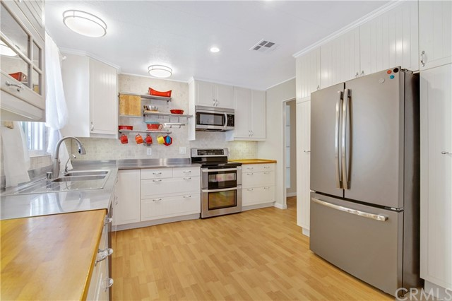 Beautiful remodeled Kitchen with Tons of counter space and storage