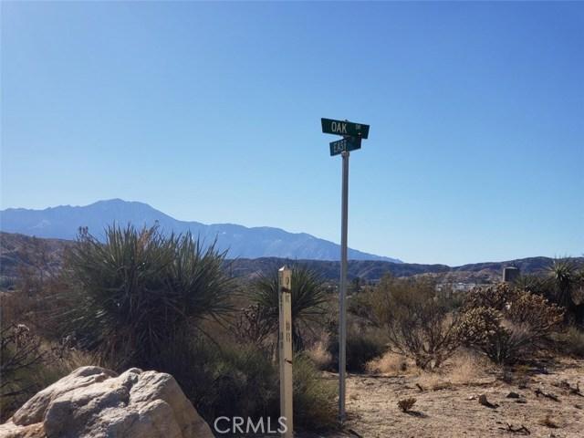 0 East, Morongo Valley, CA 92256