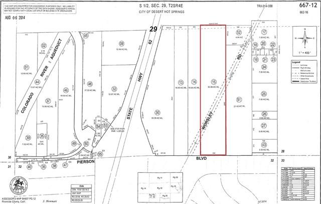 Details for 32 Acre Pierson Boulevard, Desert Hot Springs, CA 92240