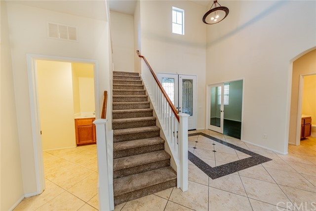 Large Laundry Room to left of staircase