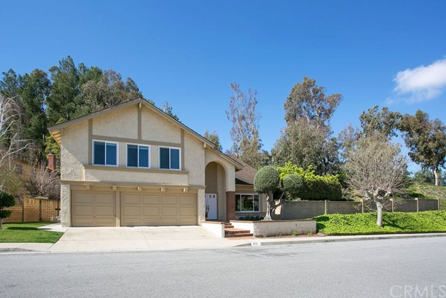Welcome to 815 S. Calle Venado, located in the sought after Anaheim Hills Estates neighborhood.  This charming home offers a floor plan with 2,922 square feet with 3 bedrooms, 3 full baths, a huge bonus room plus office on an expansive 25,200 square foot lot with an entertainer's backyard with pool, spa and fire pit. Freshly painted this move in now and customize later home offers energy efficient dual pane windows throughout, a 3 car garage, large living room with vaulted ceilings, separate family room and open kitchen with island.  Upstairs, find the generous sized master bedroom with views of the back yard, two closets and master bath with soaking tub, two good sized secondary bedrooms, an office and the dream bonus room, sure to be the gathering spot in the home. Rare to find a home with such a special lot with space and privacy, don't let this opportunity slip by!