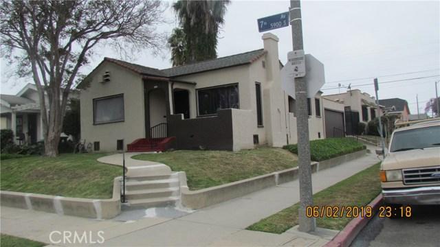 5903 7th Avenue, Los Angeles, CA 90043