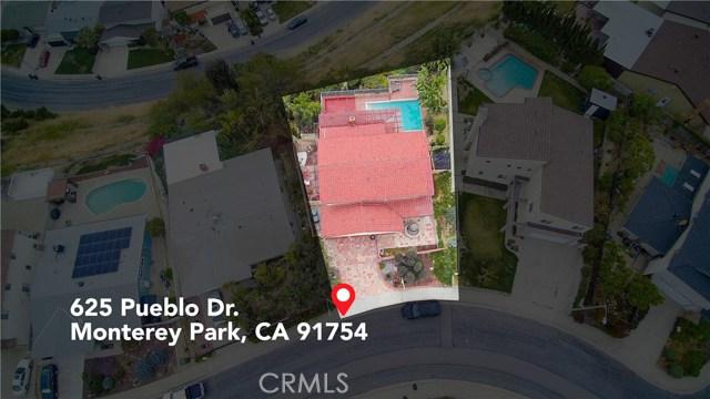 625 Pueblo Drive, Monterey Park, CA 91754