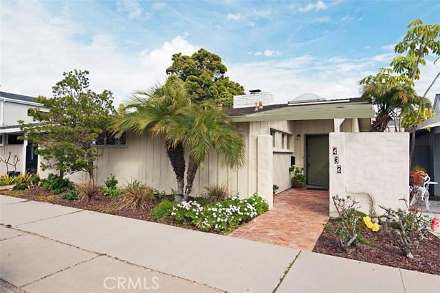 436 Seville Avenue, Newport Beach, CA 92661