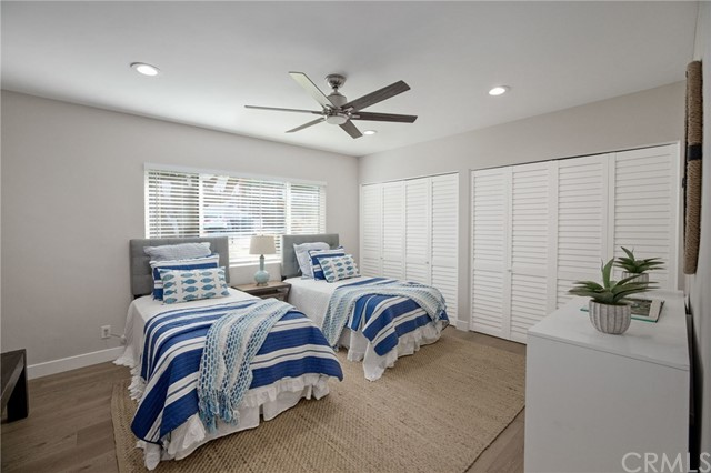 another angle of the upper 2nd bedroom