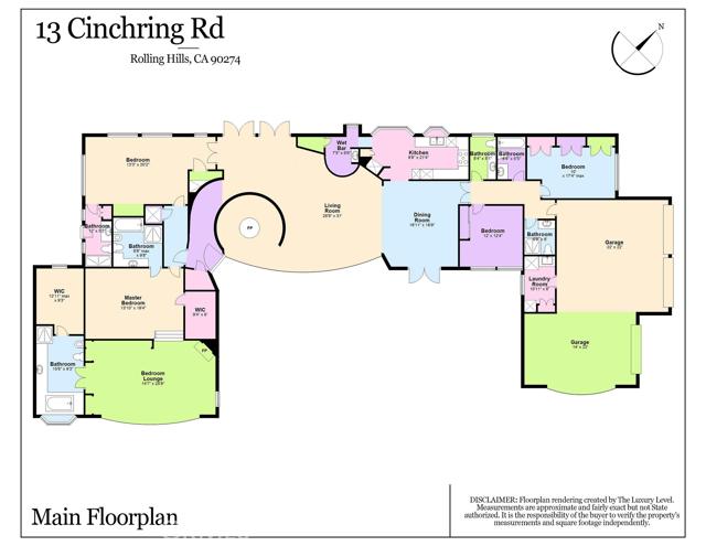 13 Cinchring Road, Rolling Hills, California 90274, 6 Bedrooms Bedrooms, ,6 BathroomsBathrooms,For Sale,Cinchring,PV20156106