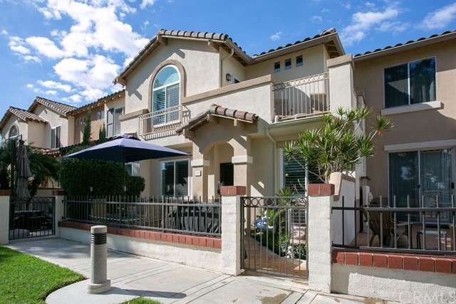 For virtual tour:   https://www.dropbox.com/s/9hks0yrl9m99p01/2472%20SUNNINGDALE%20-%20Branded.mov?dl=0  Nestled among the prestigious Tustin Ranch Golf Course in the Orchards Community sits this 3-bedroom, 2.5 bathroom home. From the master suite, take in the soaring, panoramic views of the Saddleback Mountains & sprawling fairway. The 2-story townhome encompasses 1,391 sq. ft. of living space and a 2-car attached epoxy floor garage with a plethora of cabinet and ceiling rack storage space. The beautifully remodeled kitchen comes equipped for every home chef and boasts all new stainless-steel appliances. The countless updated features continue throughout the home with new travertine flooring in the remodeled bathrooms, installed ceiling fans in all rooms, newer AC unit, new dual pane windows, gorgeous wood shutters, Pergo floors in living and dining rooms, upgraded carpet, designer paint and crown molding. Additionally, the refrigerator, washer & dryer are included in final sale while low HOA fees take care of landscaping, exterior maintenance and the nearby Greenway Park with pool, park and tennis courts. Escape to privacy in the master suite with custom-built closets and a glimpse of the picturesque outdoor landscape. The view oriented back patio comprises of a 2-person spa overlookings the lush golf grounds and makes for the perfect day ending activity! This home is a must-see and will not last long!