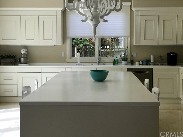 Large Kitchen with imported Italian Kitchen Cabinets