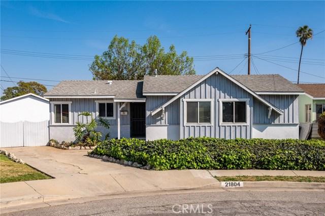 21804 Rashdall Avenue, Carson, California 90745, 3 Bedrooms Bedrooms, ,2 BathroomsBathrooms,Single family residence,For Sale,Rashdall,PW20036994
