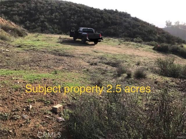 0 Spanish Hills Drive, Corona, CA 92380