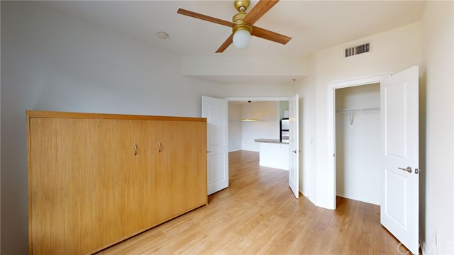 Den (used as a 2nd bedroom) with Murphy Bed