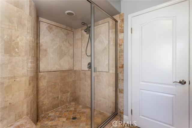 Separate shower enclosure
