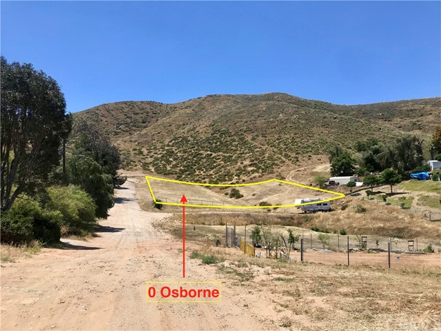 0 Osborne Lane, Homeland, CA 92548