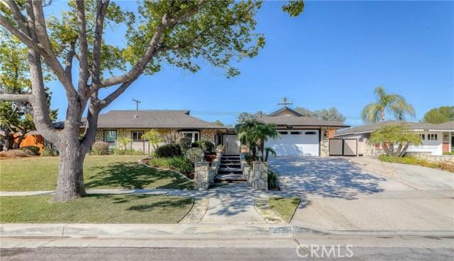 2525 Coronado Drive, Fullerton, CA 92835