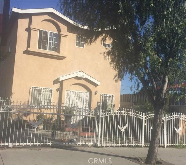 1759 Firestone Boulevard, Los Angeles, CA 90001
