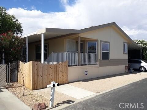 2016 Windcurrent Drive 143, Rosamond, CA 93560