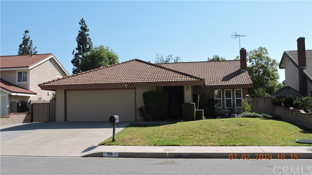 120  Peartree Court, Walnut in Los Angeles County, CA 91789 Home for Sale