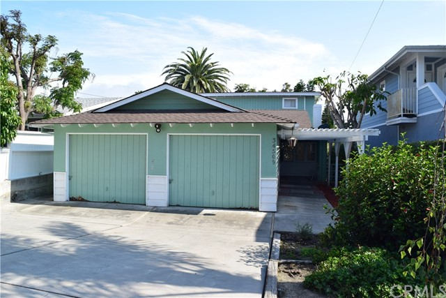 Fantastic opportunity to lease a single level beach-close home!! Includes 3 bedrooms, 2 baths with an additional bonus room! Office area with built-in cabinet! Living room with fireplace, separate family room with beamed ceiling and inside laundry! Enjoy all new flooring and new carpet! Stainless steel kitchen sinks, fireplace in family room!! Back patio has wood slat patio cover design providing great shade!! Long drive way and 2-car garage provides excellent off-street parking!! Utilities are included!!! Minutes from the freeway, schools, shopping, restaurants, the beach and so much more!! **Please note: part of the 2-car garage is a small office area**