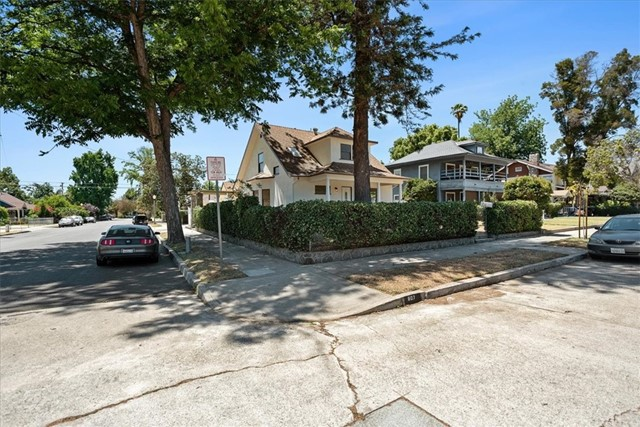 Corner Lot with Ample of Street Parking Spaces