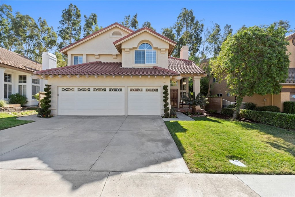 Enjoy the California life in the exclusive gate guarded community of Rancho Cielo! Wide streets and open trails make it easy to enjoy hiking, biking and a walk thru the community. This amazing move in ready executive home is upgraded and waiting for your family to enjoy the quiet location and friendly neighbors. The open floor plan has 4 bedrooms, convenient main floor bedroom and bath, large bonus room and 3 bathrooms. A double-door entry leads to formal living and dining rooms with high ceilings and floor-to-ceiling windows for lots of natural light. The large gourmet kitchen opens to the family room featuring cherry finished cabinets, stainless steel appliances, custom granite countertops, and eating area. The main floor has travertine flooring throughout, two brick fireplaces, and a laundry room. Huge master suite includes a retreat and bathroom with travertine flooring, frameless glass shower enclosure, dual vanity and sliding doors to a view balcony. Whole house fan to minimize utility bills. Three car garage with shelving, storage and work bench. Relax in the privacy of your large grass backyard with the brick patio backing to trees and open space. Its a short walk to the community park with pool, spa, BBQ, picnic area, playground and tennis courts. Expired Mello Roos saves thousands in property taxes.