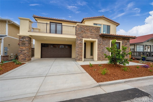 Brand new Ocean view construction in highly sought after Shell Beach, Meticulously designed and built 4 bedroom 3.5 bath home just steps from the waters of the Pacific. Entertain freely as your living room and master bedroom open to an ample deck  space for an indoor/outdoor living experience. No expense was spared when building this home, custom tile work, beautiful flooring throughout this spectacular home. Downstairs includes 2 bedrooms, 1 full bath and the laundry room. Upstairs features an open concept floor plan with the kitchen, dining area and living room, en suite master bedroom, and powder room. Follow the French doors out to the deck to find the peaceful, luxury lifestyle you deserve. The brand new Street Scape of Shell Beach offers beautiful jogging and biking trails along with wonderful restaurants. Come take a look for yourself! You'll be happy you did!