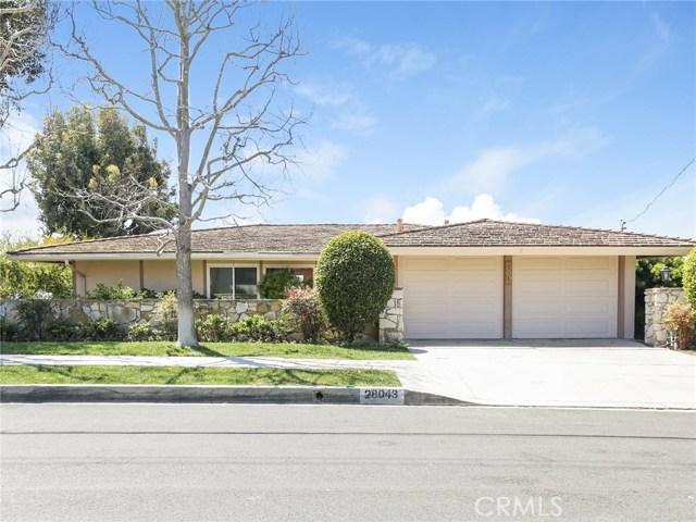28043 Braidwood Drive, Rancho Palos Verdes, California 90275, 4 Bedrooms Bedrooms, ,2 BathroomsBathrooms,For Sale,Braidwood,PV18097615