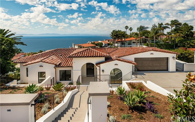 New Improved Price! Open by Appointment this Sat/Sun 9am-6pm. Call/click to schedule an appointment. Welcome to Casa Mira Sol - a transitional Spanifornia new-construction residence with views of California's coast spanning from Palos Verdes to Malibu. Conveniently located in Malaga Cove with just a short bike ride to the beach and near a picturesque path leading you to the local plaza for morning coffee/pastries in one direction and a hidden surf spot in the other. Masterfully built over the past four years this home has 4 bedrooms, 4.5 baths, approximately 3,800sf of living space and incorporates the latest style & sophistication with upstairs/downstairs sets of La Catina multi slide doors connecting the indoors to outdoors. Casa Mira Sol elevates entertaining where guests are drawn to the oversized designer kitchen to celebrate the views however a separately equipped butler's kitchen serves as the behind the scenes dirty space. The master suite is the ultimate in luxurious living with unobstructed ocean views, gorgeous bathroom, two walk in closets & an ocean breeze catching double door with Juliet balcony - a perfect place to position a Peloton bike. Family entertainment space is downstairs extending to the outdoors with a loggia, infinity-edge pool, built-in BBQ kitchen, raised organic herb gardens, yard space & outdoor dining space bordered by seating walls. A rare opportunity harmonizing luxurious resort-like living with current trends