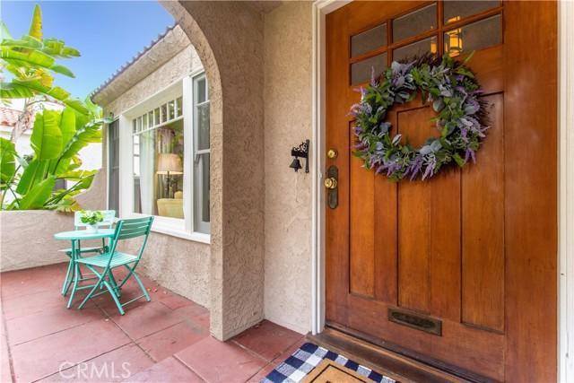 924 N. Olive Street- Front Door Entry Area