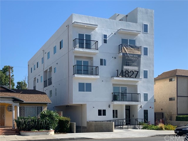 2021 CONSTRUCTION and days away from final city sign off.  Victory Nine (V9): V9 is a luxury nine-unit apartment building in Van Nuys, CA.  Eight of the nine luxury units offer floor plans with 3 & 4 bedrooms and between 2.5 and 3.5 baths. All the units are outfitted with modern fashionable finishes to attract tenants with upscale needs. The units feature premium wood laminate flooring and stylish tiles throughout. Kitchens feature custom wood cabinets and countertops, fully equipped with stainless steel appliances. There are separate washer and dryer utility areas in all units. Units have 1 to 3 private balconies and plenty of windows to maximize the natural light. Each unit has a high-tech visual security system, built-in speakers and is cable ready. The fully gated and secure subterranean parking garage services tenants with car and bicycle parking and is wired for a future electric car charging station. Tenants also have access to an expansive rooftop deck overlooking the skyline of the beautiful San Fernando Valley. Note: All units are individually metered for water, electric and gas, which will be the responsibility of each tenant. Victory Nine, located in Van Nuys, CA which is 18 miles northwest of downtown Los Angeles. One mile away is the Metro Van Nuys Orange Line Station which takes you downtown to connect to the other lines or to Chatsworth, CA. Conveniently located north of the 101 freeway and in between the 405 and 170 freeways.