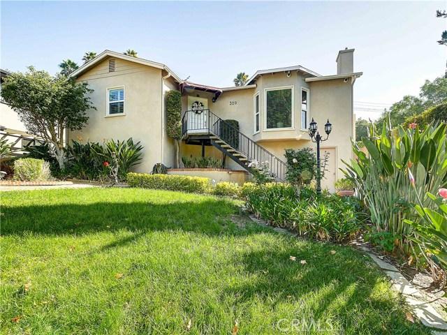 320 Glenullen Drive, Pasadena, CA 91105